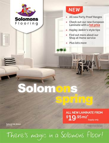 Solomons Flooring in Toowoomba   Catalogues & Sale [Weekly]