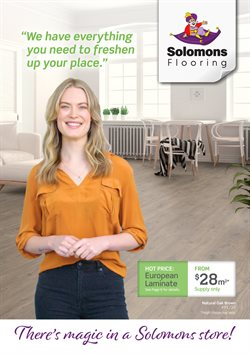 Solomons Flooring catalogue ( More than one month )