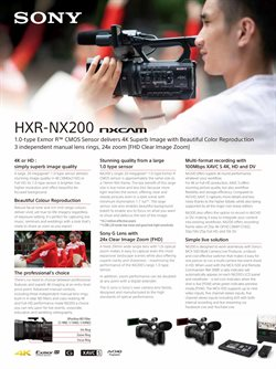 Offers from Sony Centre in the Perth WA catalogue