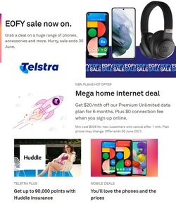 Telstra specials in the Telstra catalogue ( 15 days left)