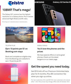 Telstra specials in the Telstra catalogue ( 6 days left)