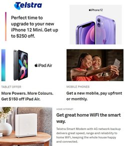 Telstra specials in the Telstra catalogue ( Expires today)