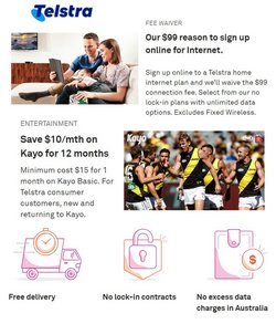 Telstra specials in the Telstra catalogue ( 4 days left)