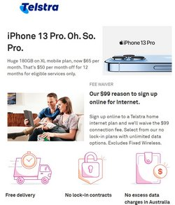 Telstra specials in the Telstra catalogue ( 10 days left)
