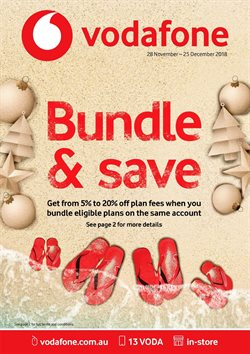 Offers from Vodafone in the Yeppoon QLD catalogue