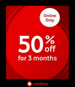 Vodafone specials in the Vodafone catalogue ( 3 days left)