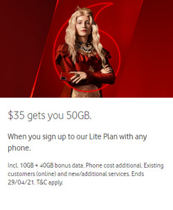 Vodafone coupon ( 12 days left )