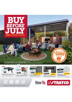 Stratco specials in the Stratco catalogue ( 4 days left)
