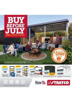 Stratco specials in the Stratco catalogue ( 5 days left)