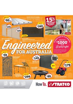 Stratco specials in the Stratco catalogue ( Expired)