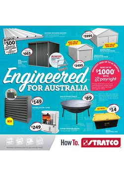 Homeware & Furniture specials in the Stratco catalogue ( 14 days left)