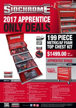 Offers from Total Tools in the Melbourne VIC catalogue