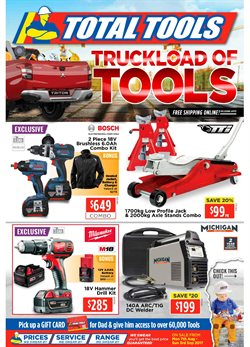 Garden, Tools & Hardware offers in the Total Tools catalogue in Newcastle NSW