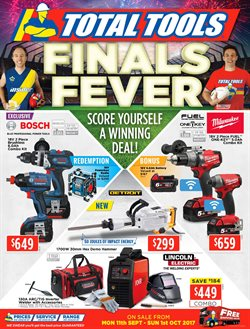 Garden, Tools & Hardware offers in the Total Tools catalogue in Sydney NSW