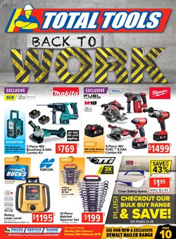 Garden, Tools & Hardware offers in the Total Tools catalogue in Adelaide SA