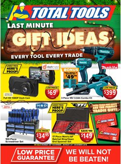 Offers from Total Tools in the Sydney NSW catalogue