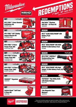 DIY & Garden offers in the Total Tools catalogue in Sydney NSW