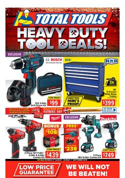 Offers from Total Tools in the Perth WA catalogue