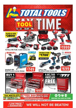 Total Tools catalogue ( Published today)