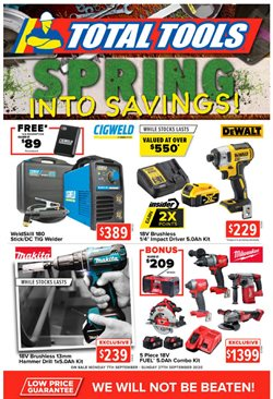 DIY & Garden offers in the Total Tools catalogue in Sydney NSW ( 7 days left )
