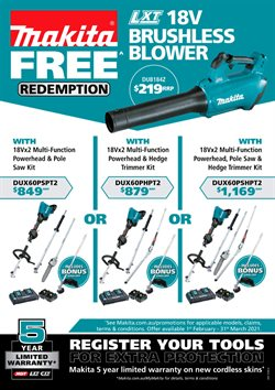 DIY & Garden offers in the Total Tools catalogue ( 23 days left )