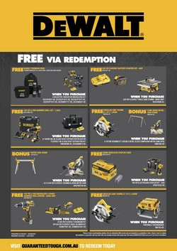 Total Tools specials in the Total Tools catalogue ( 15 days left)