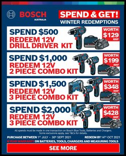 Total Tools specials in the Total Tools catalogue ( More than one month)