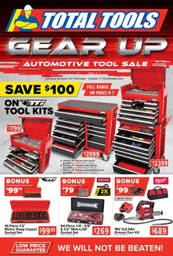 DIY & Garden specials in the Total Tools catalogue ( 15 days left)