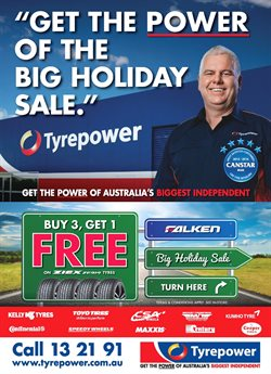 Cars, motorcycles & spares offers in the Tyrepower catalogue in Kingaroy QLD
