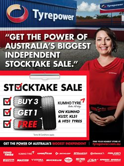 Cars, motorcycles & spares offers in the Tyrepower catalogue in Canberra ACT