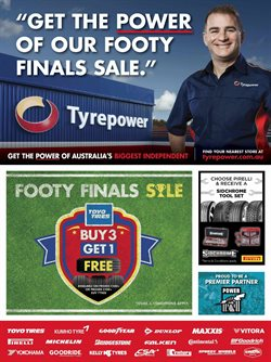 Cars, motorcycles & spares offers in the Tyrepower catalogue in Lakes Entrance VIC