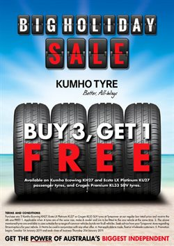Offers from Tyrepower in the Perth WA catalogue