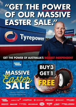 Cars, motorcycles & spares offers in the Tyrepower catalogue in Lithgow NSW