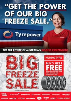 Offers from Tyrepower in the Melbourne VIC catalogue