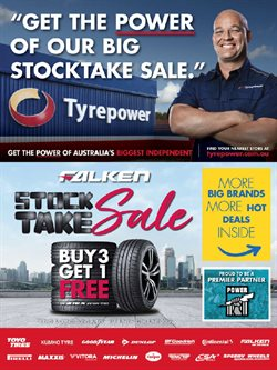Cars, motorcycles & spares offers in the Tyrepower catalogue in Echuca VIC