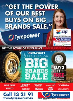 Offers from Tyrepower in the Brisbane QLD catalogue