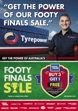 Offers from Tyrepower in the Enfield VIC catalogue