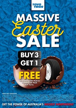Easter specials in the Tyrepower catalogue ( 10 days left)