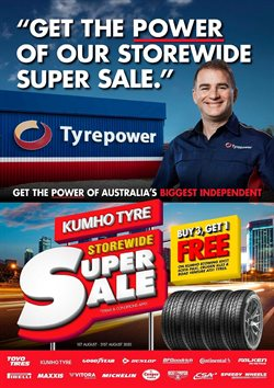 Tyrepower catalogue ( 17 days left )
