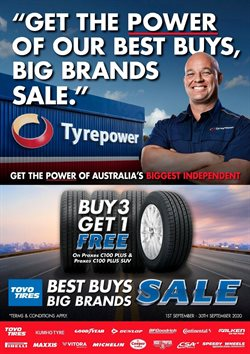 Cars, Motorcycles & Spares offers in the Tyrepower catalogue in Wallan VIC ( 3 days left )