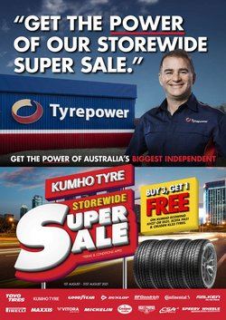 Tyrepower specials in the Tyrepower catalogue ( 27 days left)