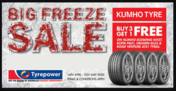 Tyrepower coupon ( 4 days left )