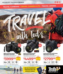 Offers from Teds Cameras in the Melbourne VIC catalogue