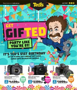 Electronics & Appliances specials in the Teds Cameras catalogue ( 5 days left)