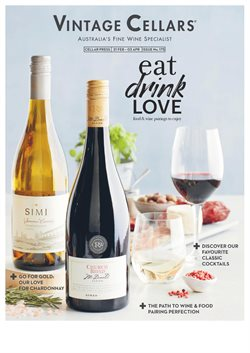 Offers from Vintage Cellars in the Sydney NSW catalogue