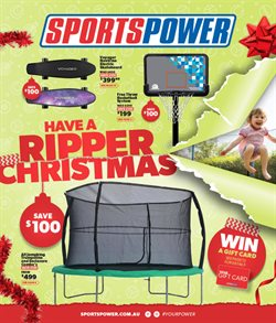 Sport offers in the Sportspower catalogue in Busselton WA