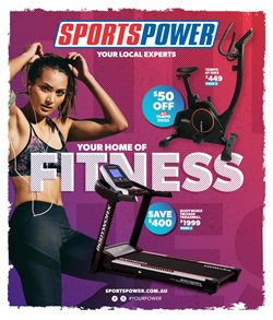 Sport offers in the Sportspower catalogue in Northam WA