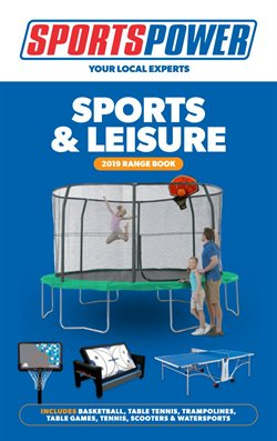 Offers from Sportspower in the Adelaide SA catalogue