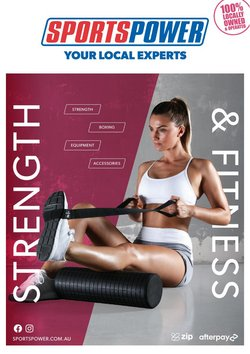 Sportspower specials in the Sportspower catalogue ( Published today)