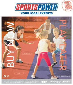 Sport specials in the Sportspower catalogue ( Expires tomorrow)